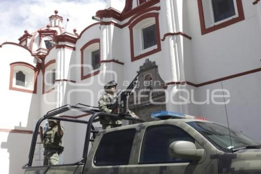 CHOLULA . SEGURIDAD